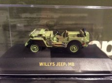1:43 Jeep Willy's MB Star