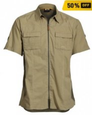 Men's Shirt Short Sleeves Sand
