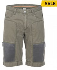 Men's Shorts with Zipped Mesh Pockets